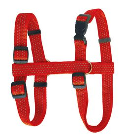 Pucci Reflective Dog Harness Red - Small