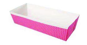 Eddingtons - Pink Paper Loaf Pans - 0.9kg