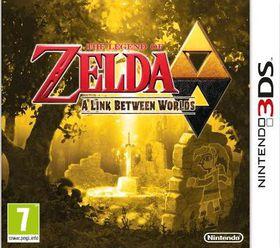 Legend of Zelda: A Link Between Worlds (3DS)