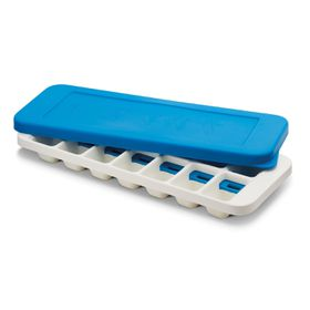 Joseph Joseph Quicksnap Plus Ice Tray - White & Blue