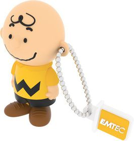 Emtec PN101 USB2.0 - CHARLIE BROWN (PEANUTS) - 8GB