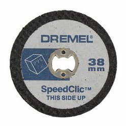 Dremel - Ez Speedclic: Plastic Cutting Wheels - 5 Piece