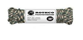 Rothco - Polyester Paracord 50ft - Camo