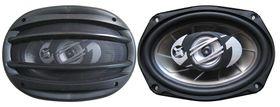 Telefunken TCS-6962 500W 3 Way 6x9 Car Speakers