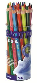 Giotto Mega 24 (2x12) Large Coloured Pencils