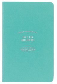 Ogami Professional Collection Blue - Mini 48 Pages Ruled Softcover Notebook