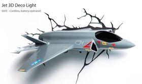 3D Lights - Fighter Jet