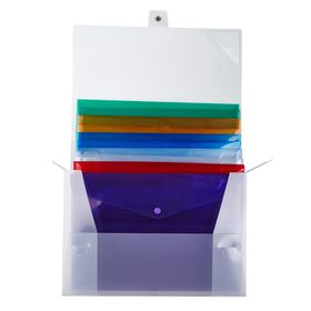 Meeco Carry Folder Storage Box with 12 Carry Folders