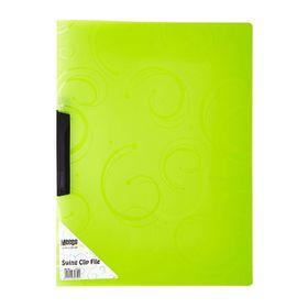 Meeco A4 Creative Colour Swing Clip File - Green