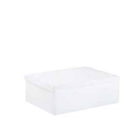 Meeco Creative Collection P.P Foolscap Size Storage Box - White