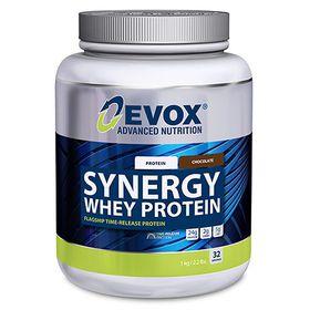Evox Synergy Whey Protein Double Chocolate - 1kg