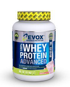 Evox Whey Protein 100% Strawberry - 908g
