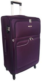 Tosca Gold Ultra Light 60cm Trolley Case - Purple/Grey