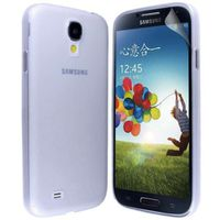Frosted Case for Samsung Galaxy S4 Mini i9190 - White