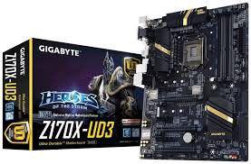 Gigabyte Z170X-UD3 Skt1151 ATX Motherboard