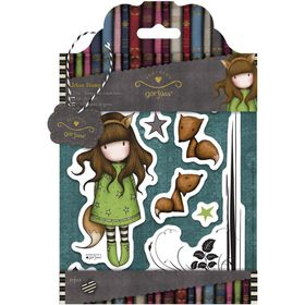 Docrafts Gorjuss Rubber Stamp - The Fox (10 Pieces)
