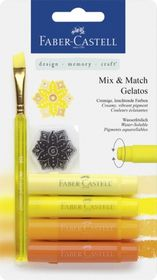 Faber-Castell Gelatos - 4 Shades of Yellow
