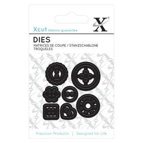 Xcut Mini Die - Buttons (7 Pieces)