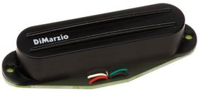 DiMarzio DP218 Super Distortion S Strat Humbucker Electric Guitar Pickup - Black