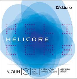 D'ADDARIO Helicore Medium Tension 4/4 Violin Strings