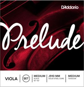 D'Addario Prelude Medium Tension Medium Scale Viola Strings