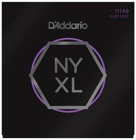 D'Addario NYXL1149 Nickel Wound Medium Electric Guitar Strings - 11-49