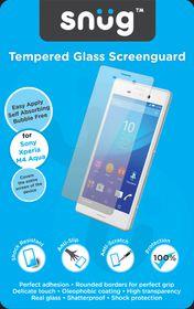 Snug Tempered Glass Screenguard - Sony Xperia M4 Aqua