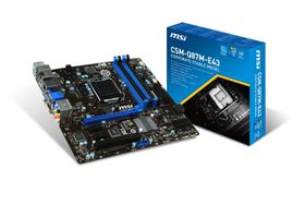 MSI Intel Q87M-E43 Q87 Chipset