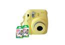 Fujifilm Instax Mini 8 Camera Value Bundle Yellow