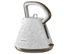Morphy Richards - Prism Accents Cordless Kettle - White