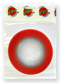 Tape Wormz Red Double Sided High Tack Tape - 6mm x 25m