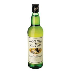 Bonnie & Clyde Scotch Whisky -  Case - 12 x 750ml