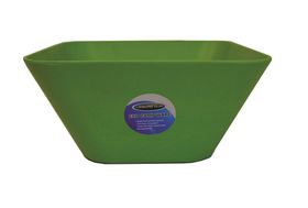LeisureQuip - 24.5Cm Bamboo Square Bowl - Green