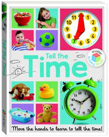 Building Blocks Clicker Clock Book