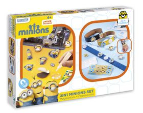 Minions 2 In 1 Creative Set