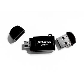 Adata UD320 64GB OTG Flash Drive - Black