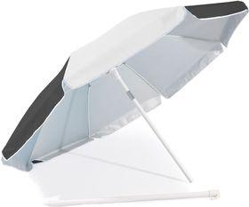 St Umbrella - Beach Umbrella - Black and White