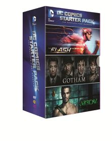 DC Comic Starter Pack Seasons 1 (DVD)