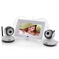 Wireless Baby Monitor with 2x Cameras