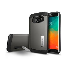 Spigen S6 Edge Plus Slim Armor Grey Case