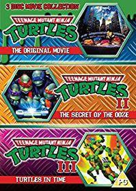 Teenage Mutant Ninja Turtles - The Movie Collection (DVD)