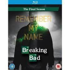 Breaking Bad: Season Five - Part 2, the Final Season Blu Ray (Blu-ray)