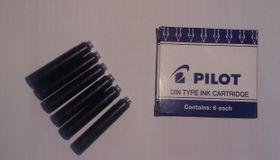 Pilot Mid Range Fountain Pen Refills - Blue
