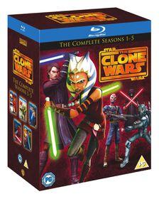 Star Wars Clone Wars - Season 1-5 (Blu-ray)