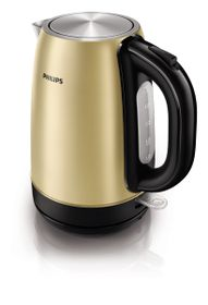Philips Metal Kettle - Champagne