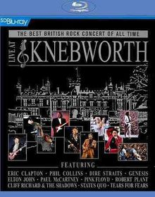 Live At Knebworth - Various (Region A Blu-ray)
