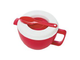 Progressive Kitchenware Micro Oatmeal Bowl - Red