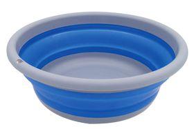 LeisureQuip - Round Foldaway Washing Up Bowl - Blue