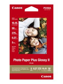 Canon PP-201 4 X 6 Photo Paper (50 Sheets)