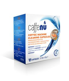 Caffeluxe Coffee Machine Cleaning Capsules